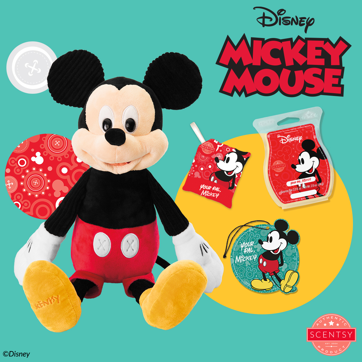 Scentsy Disney Products