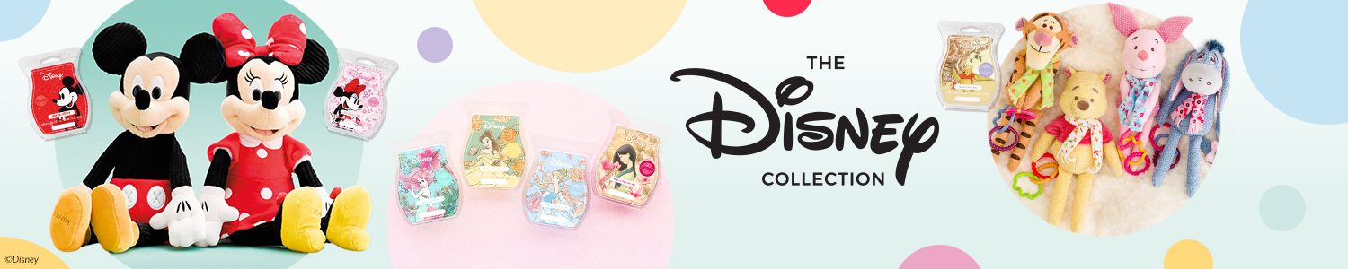 disney products by scentsy banner